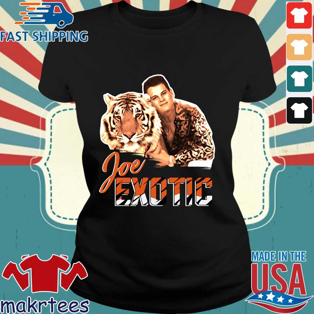 Free Joe Exotic The Tiger King Shirt Ladies den