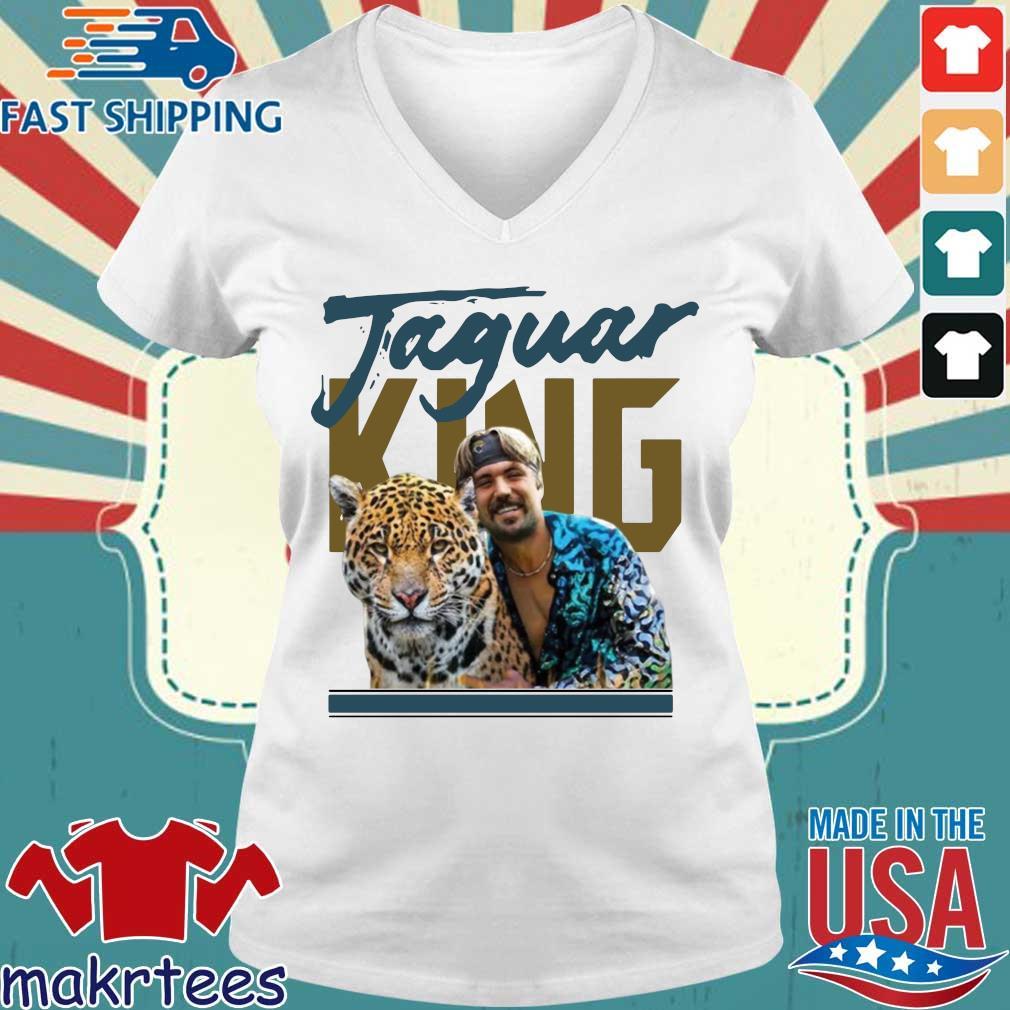 Gardner Minshew Jaguar King Shirt Ladies V-neck trang