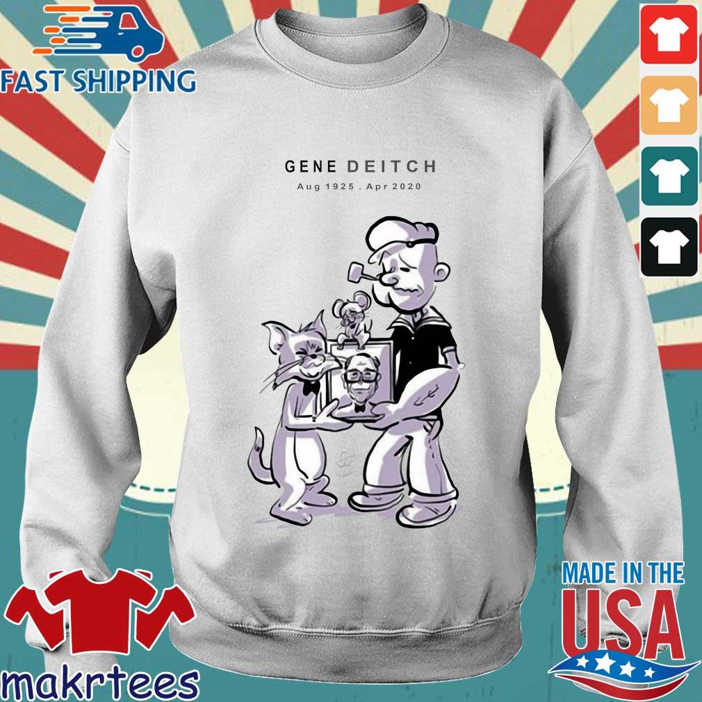 Gene Deitch Rip Shirt Sweater trang