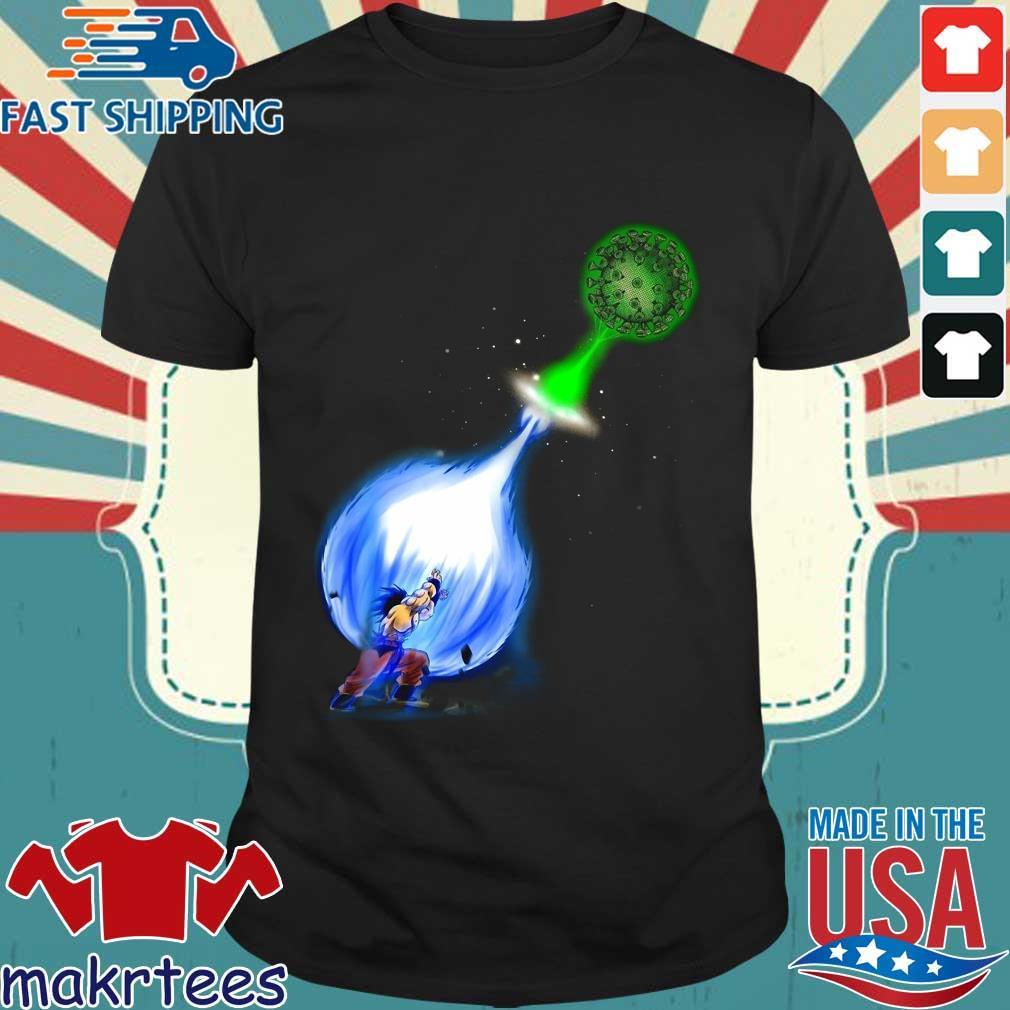 Goku Kamehameha Vs Covid-19 Shirt