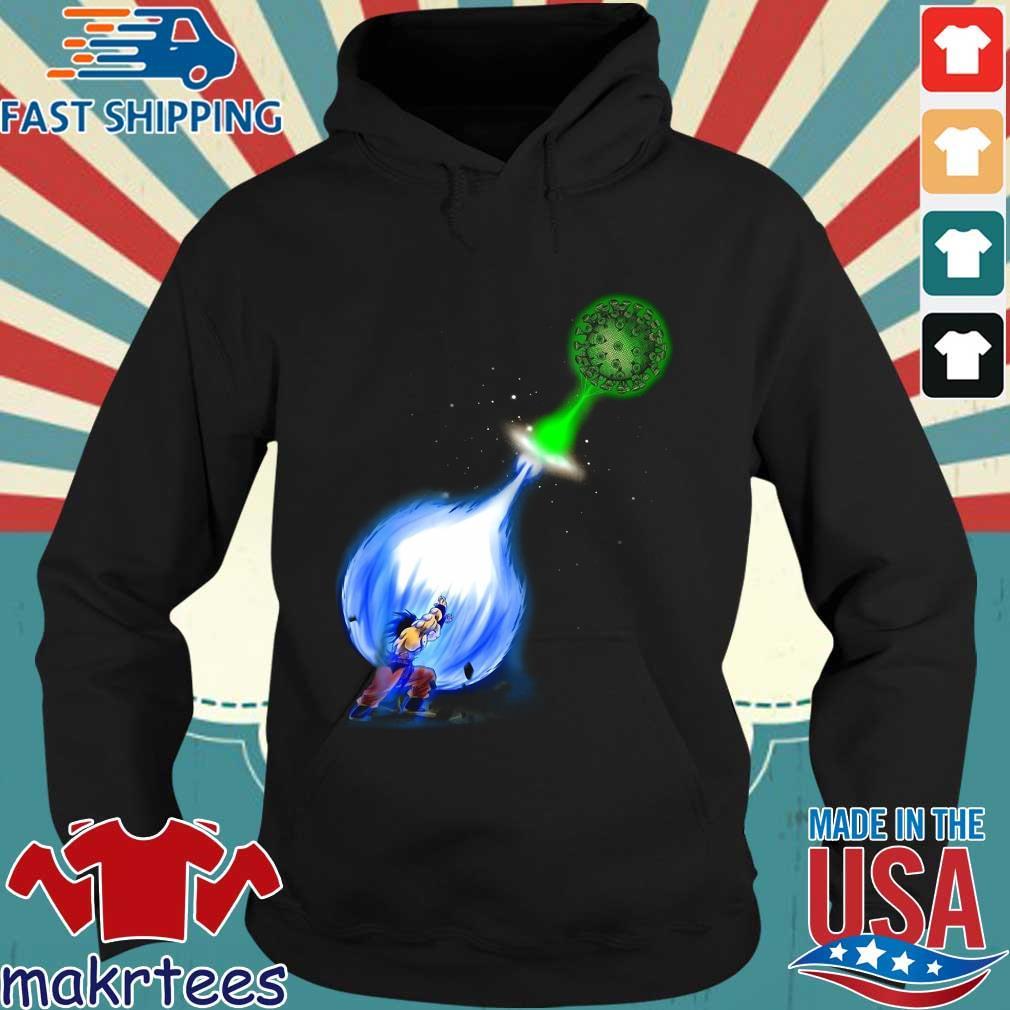 Goku Kamehameha Vs Virus Corona Shirt Hoodie den