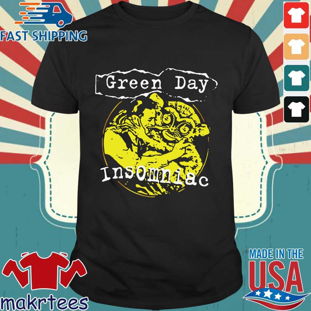 Green Day Insimniac Shirt