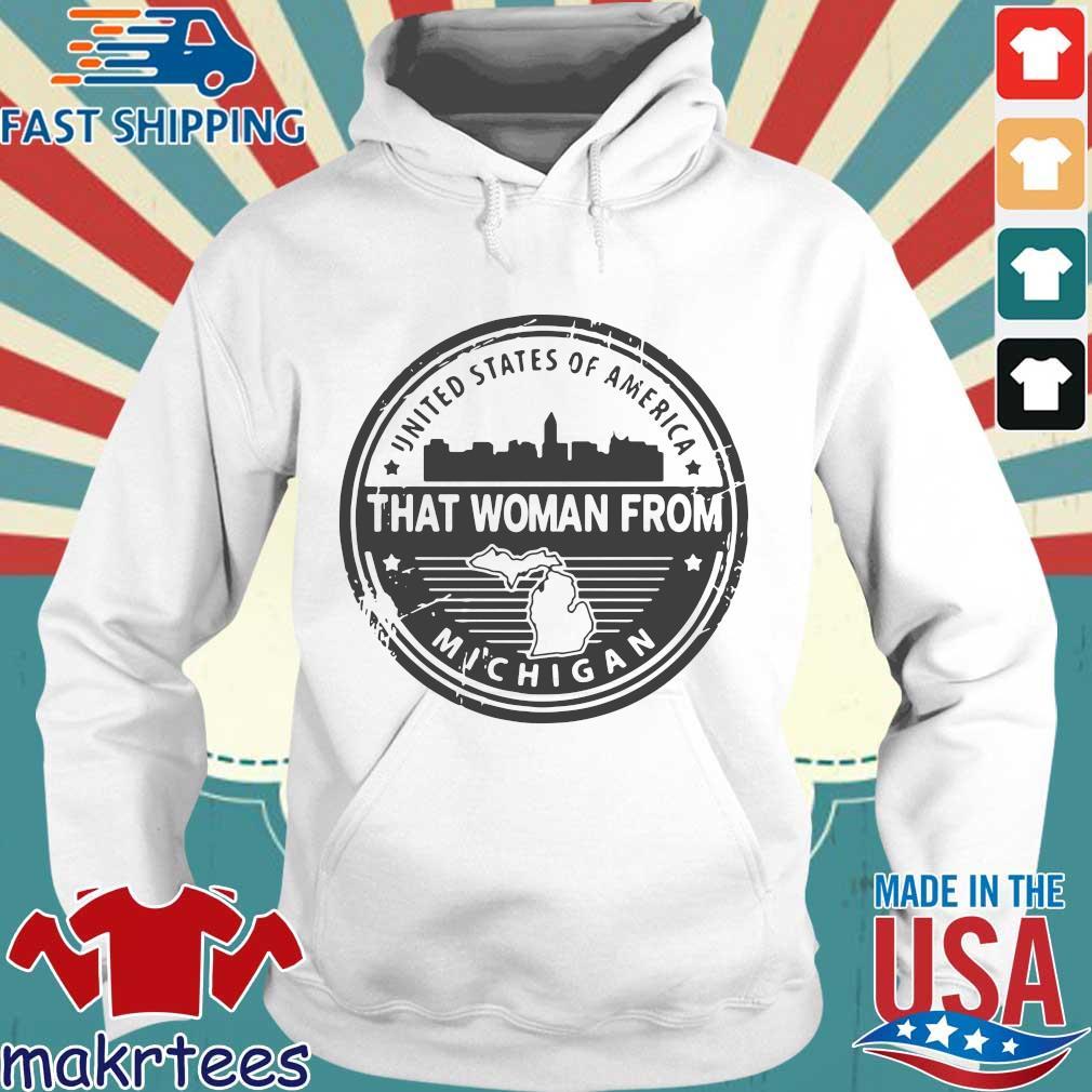 Gretchen Whitmer – That Woman From Michigan Shirt Hoodie trang