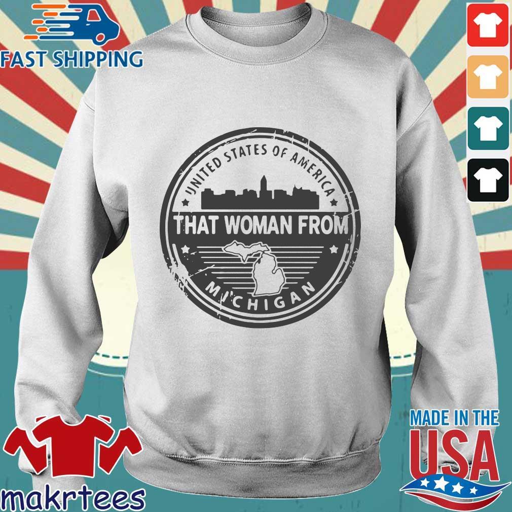 Gretchen Whitmer – That Woman From Michigan Shirt Sweater trang