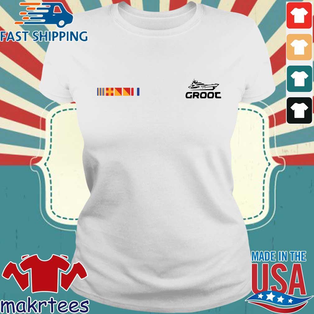 Groot Yacht Shirt Ladies trang