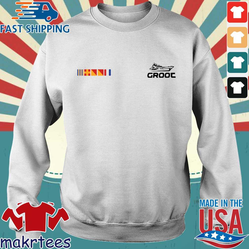 Groot Yacht Shirt Sweater trang
