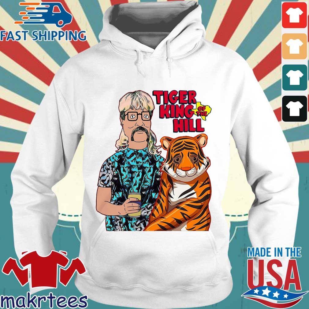 Hank Hill Tiger King Of The Hill Texas T-s Hoodie trang