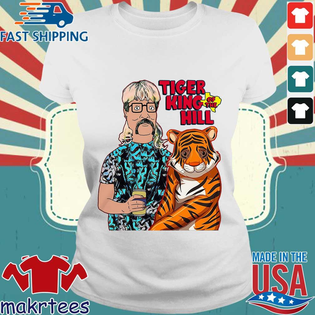 Hank Hill Tiger King Of The Hill Texas T-s Ladies trang