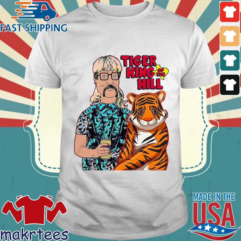 Hank Hill Tiger King Of The Hill Texas T-shirt