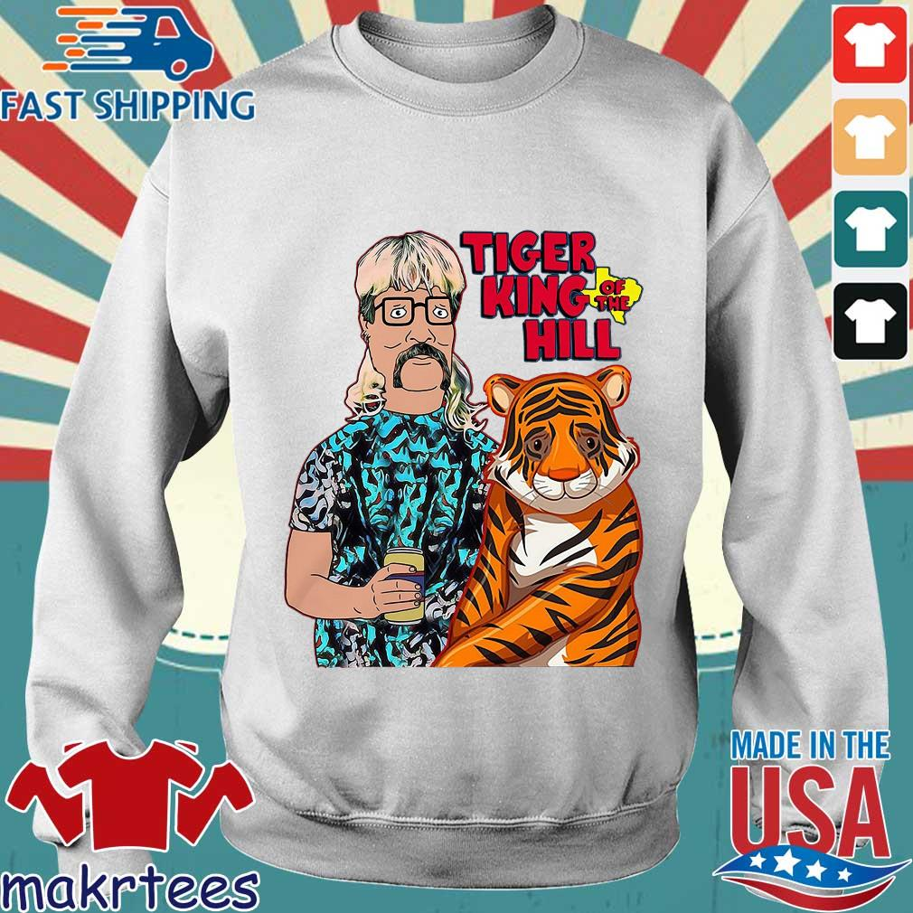 Hank Hill Tiger King Of The Hill Texas T-s Sweater trang