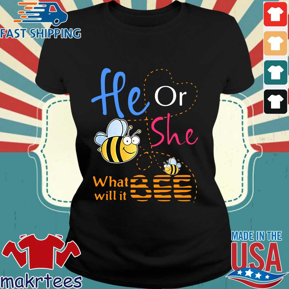 He Or She What Will It Bee 2020 Shirt Ladies den