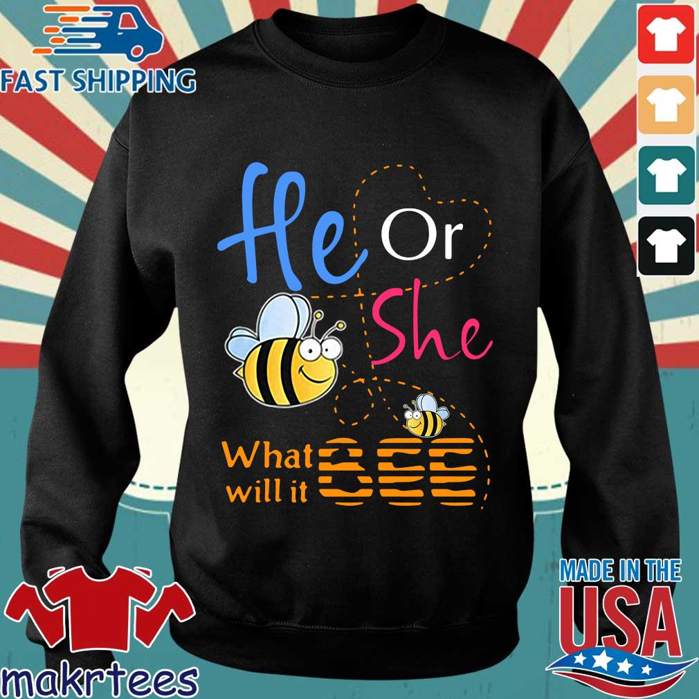 He Or She What Will It Bee 2020 Shirt Sweater den