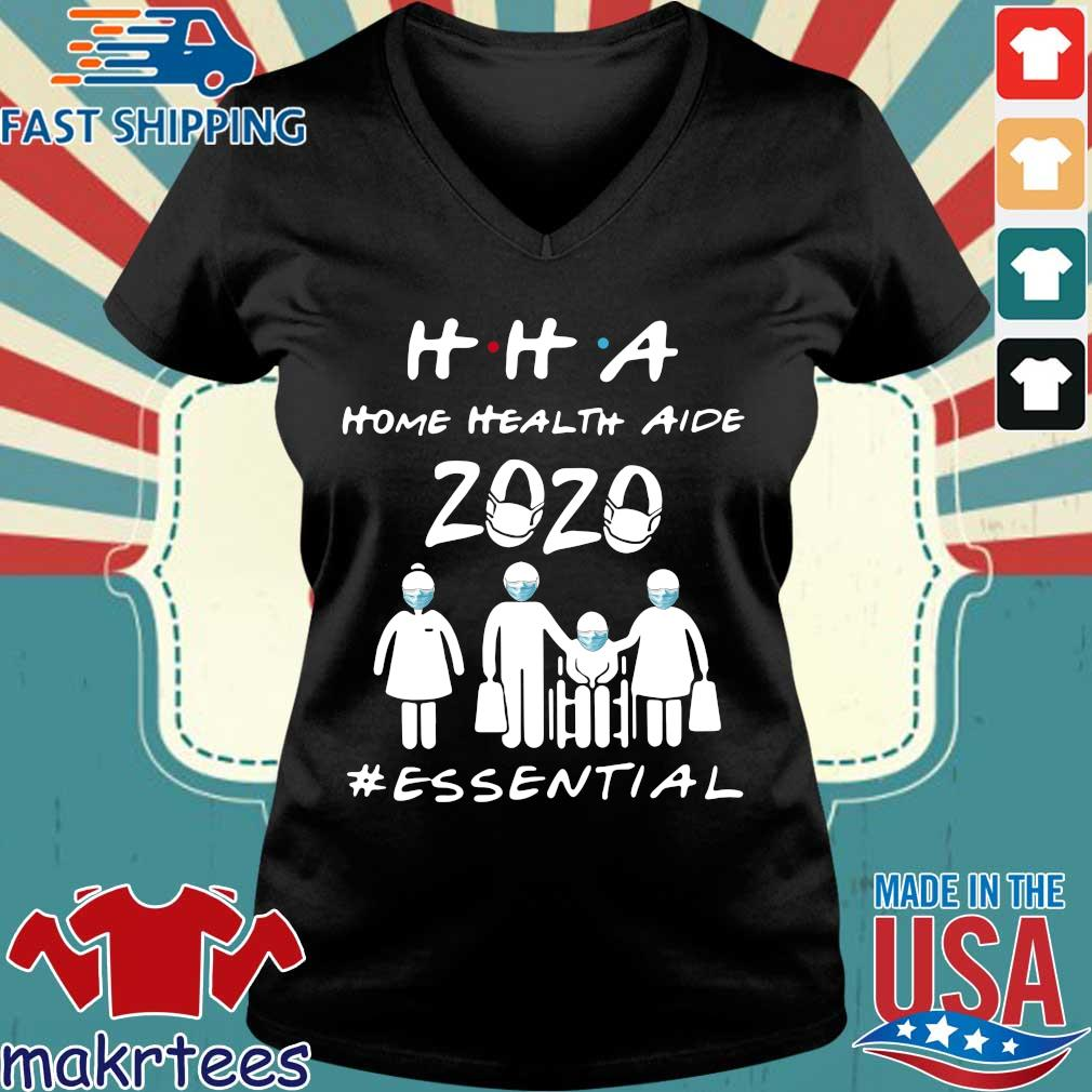Hha Home Health Aide 2020 Essential Official T-s Ladies V-neck den