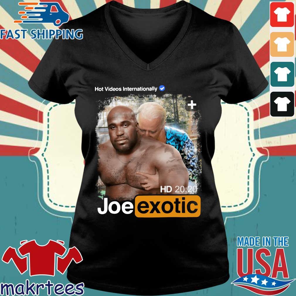 Hot Videos Internationally Joe Exotic Shirt Ladies V-neck den