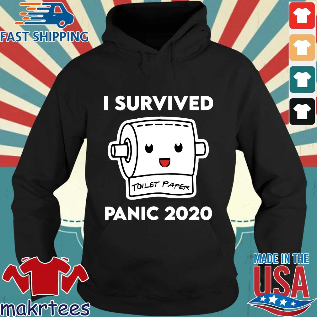 I Survived Panic 2020 Toilet Paper Shirt Hoodie den
