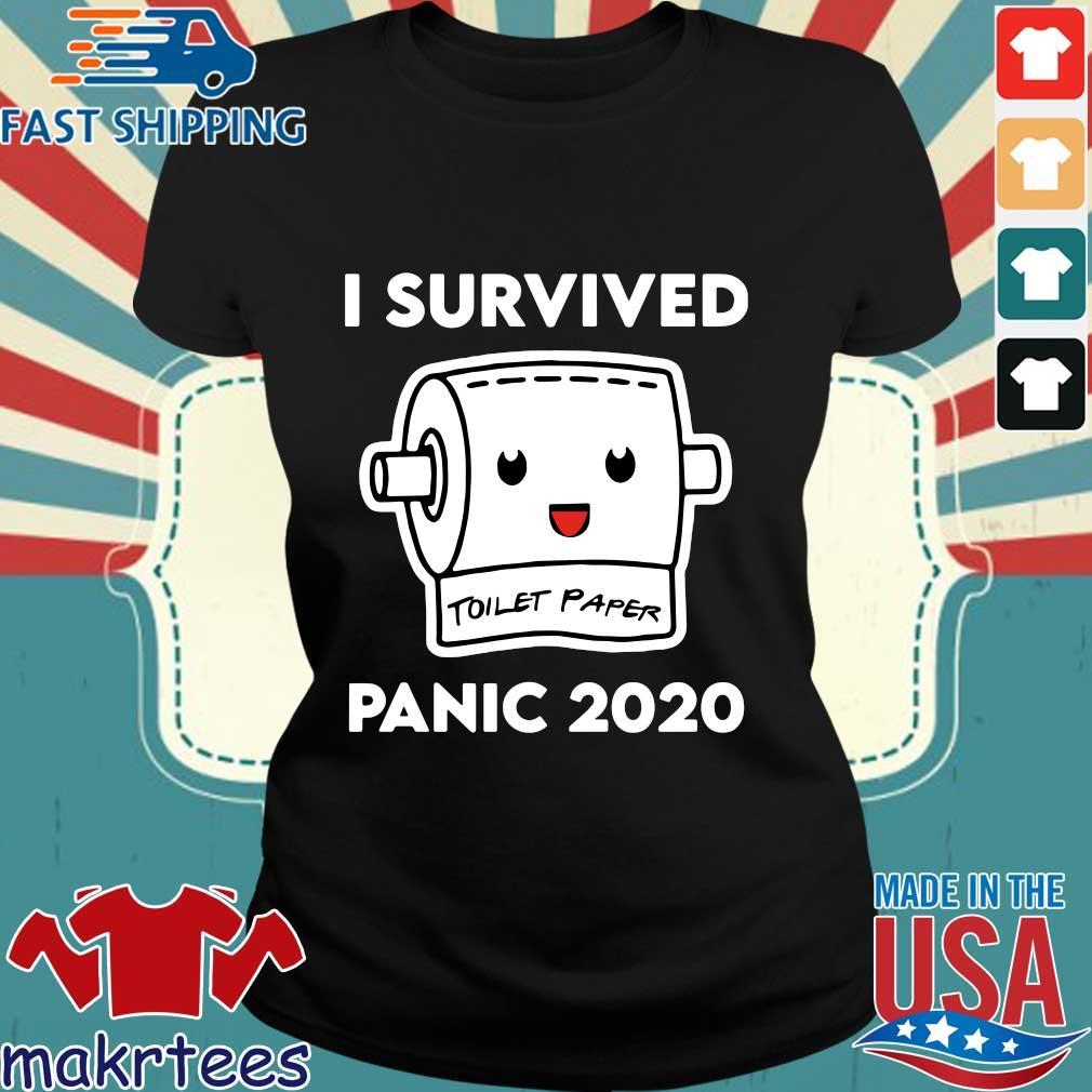 I Survived Panic 2020 Toilet Paper Shirt Ladies den