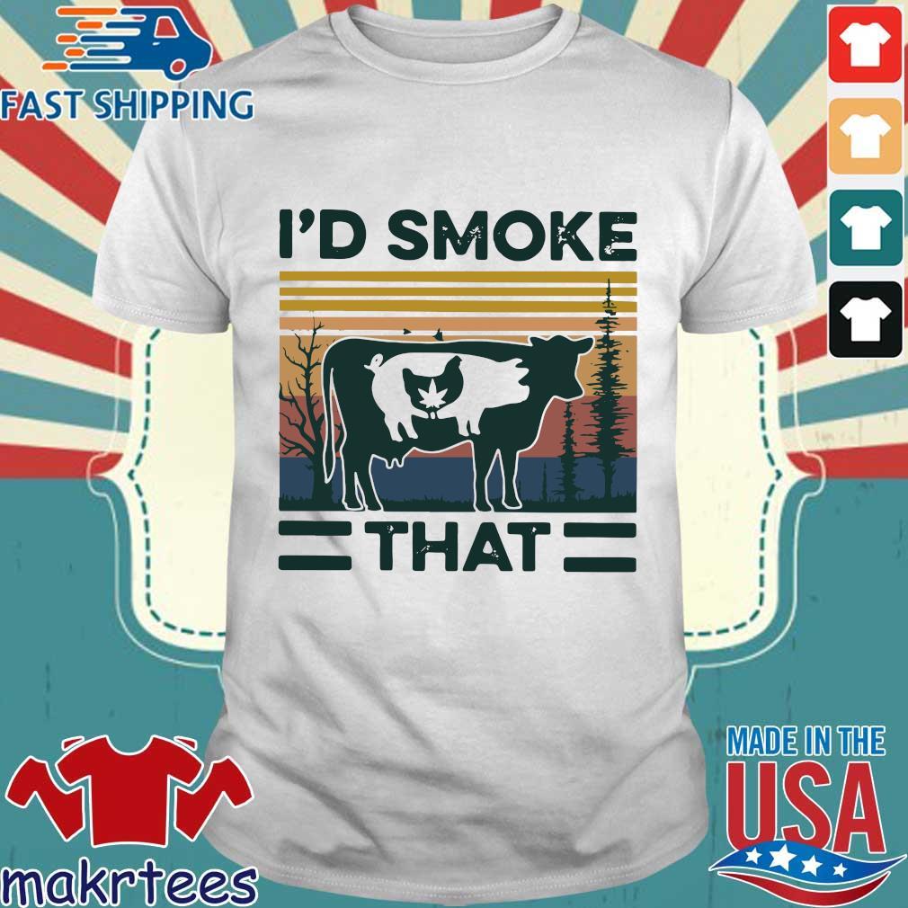 I'd Smoke That Vintage Shirt