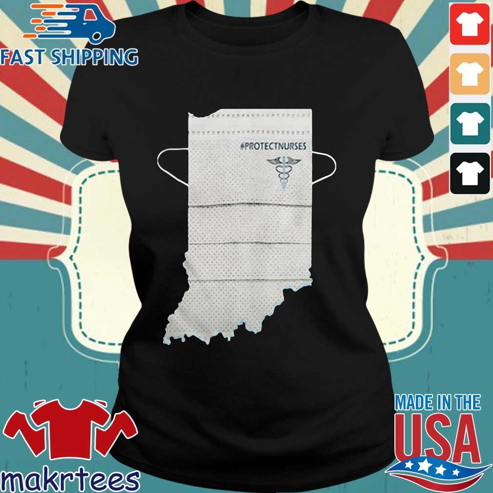 Indiana Protectnurses Face Mask Shirts Ladies den
