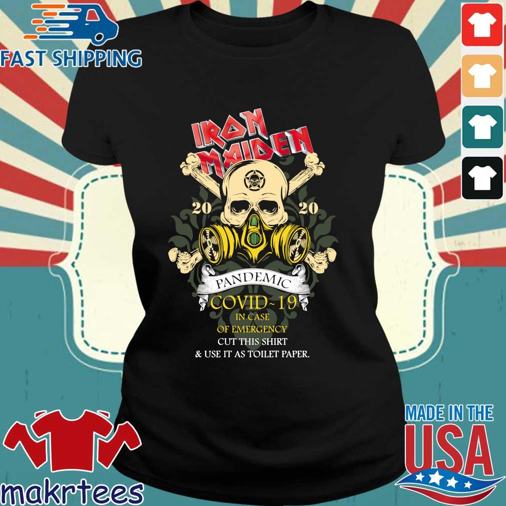 Iron Maiden Romance Pandemic Covid 19 In Case Official T-s Ladies den