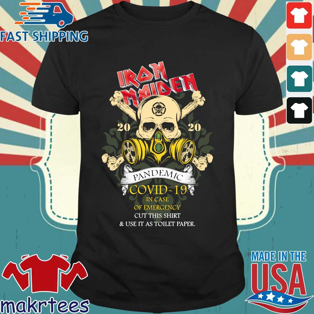 Iron Maiden Romance Pandemic Covid 19 In Case Official T-shirt