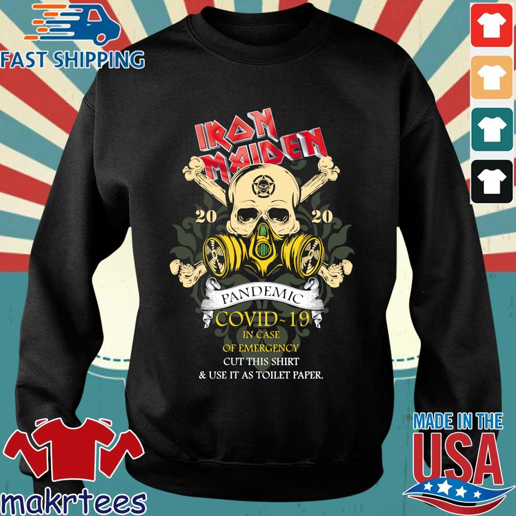 Iron Maiden Romance Pandemic Covid 19 In Case Official T-s Sweater den
