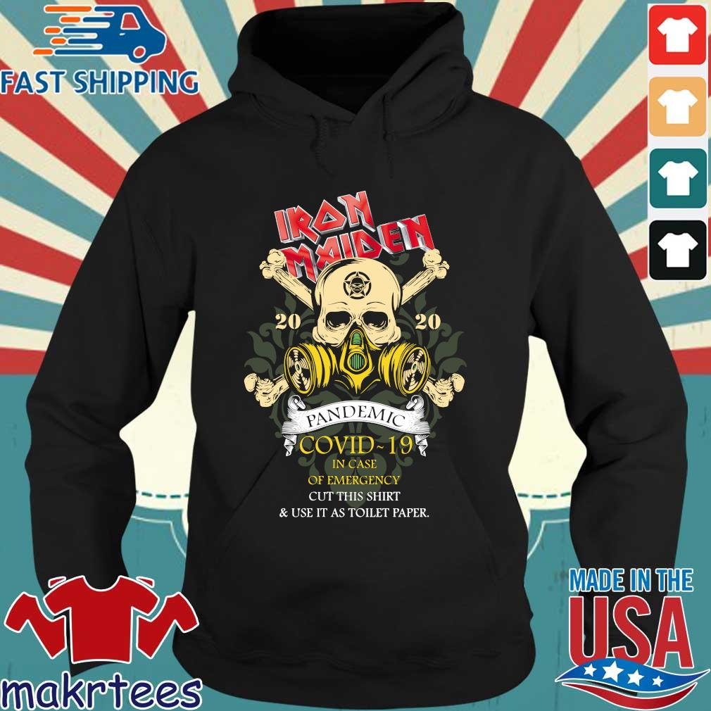 Iron Maiden Romance Pandemic Covid 19 In Case T-s Hoodie den