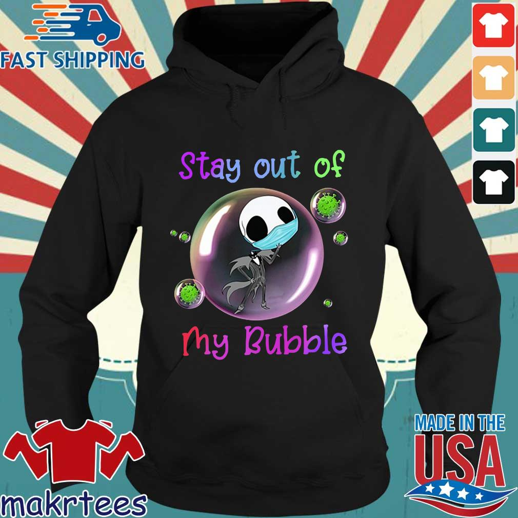 Jack Skellington Mask Stay Out Of My Bubble Shirt Hoodie den