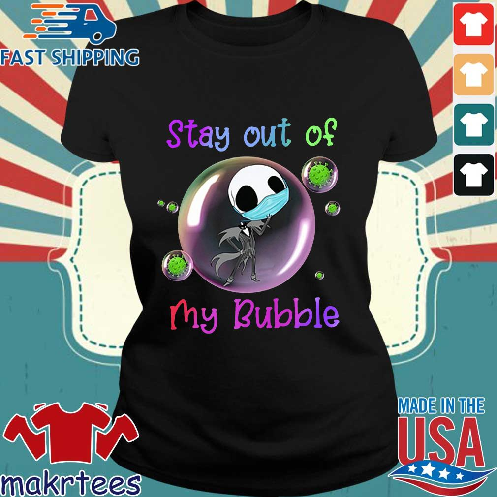 Jack Skellington Mask Stay Out Of My Bubble Shirt Ladies den
