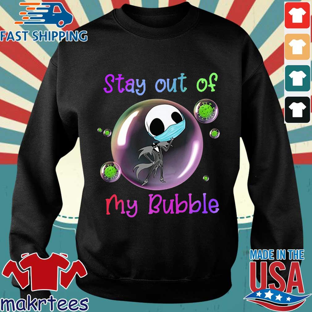 Jack Skellington Mask Stay Out Of My Bubble Shirt Sweater den