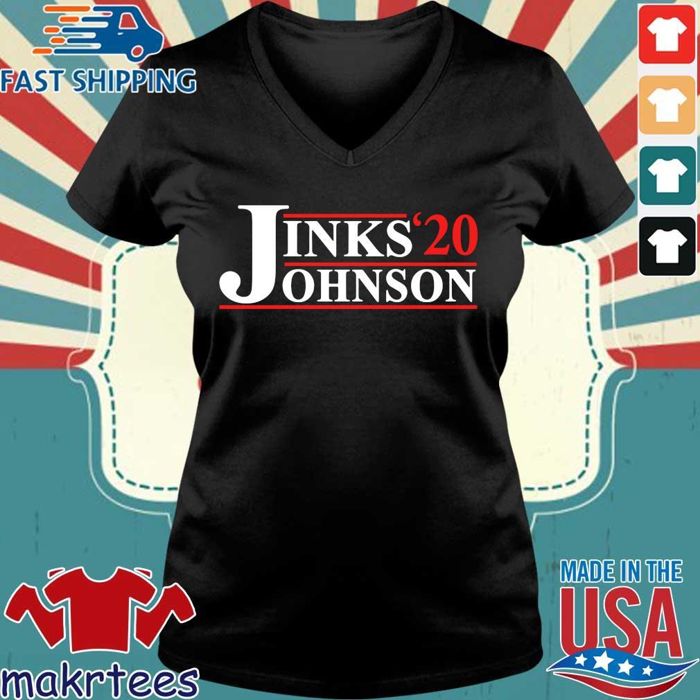 Jinks Johnson 2020 Shirts Ladies V-neck den