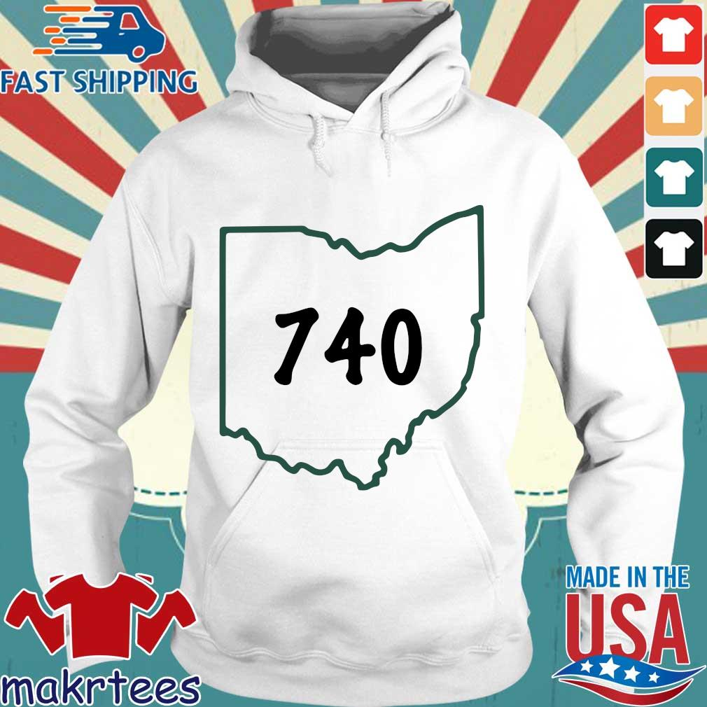 Joe Burrow 740 Ohio Shirt Hoodie trang