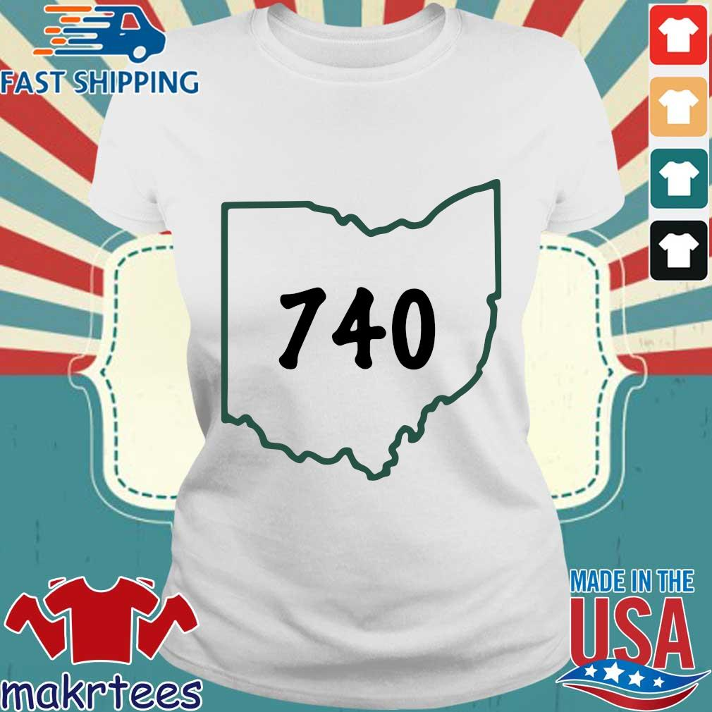 Joe Burrow 740 Ohio Shirt Ladies trang