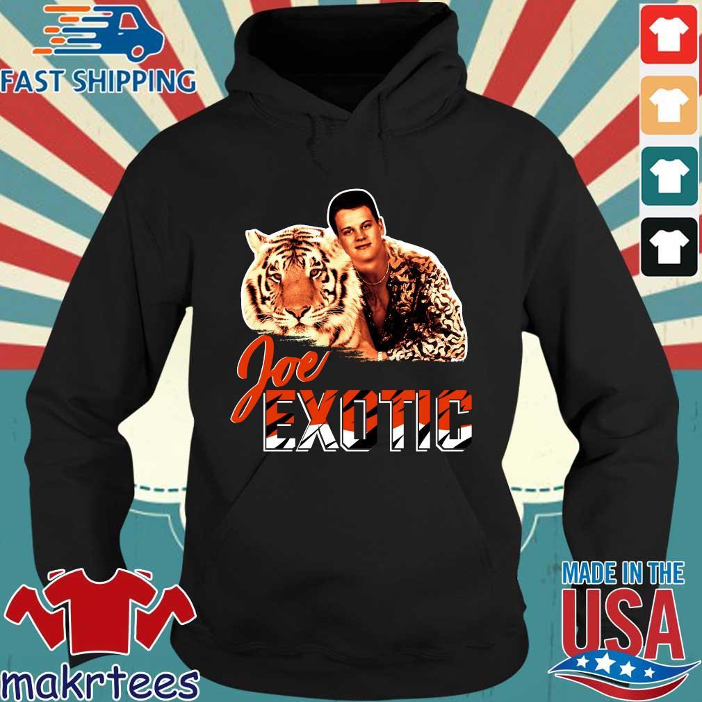Joe Burrow Joe Exotic Tigers King shirts Hoodie den