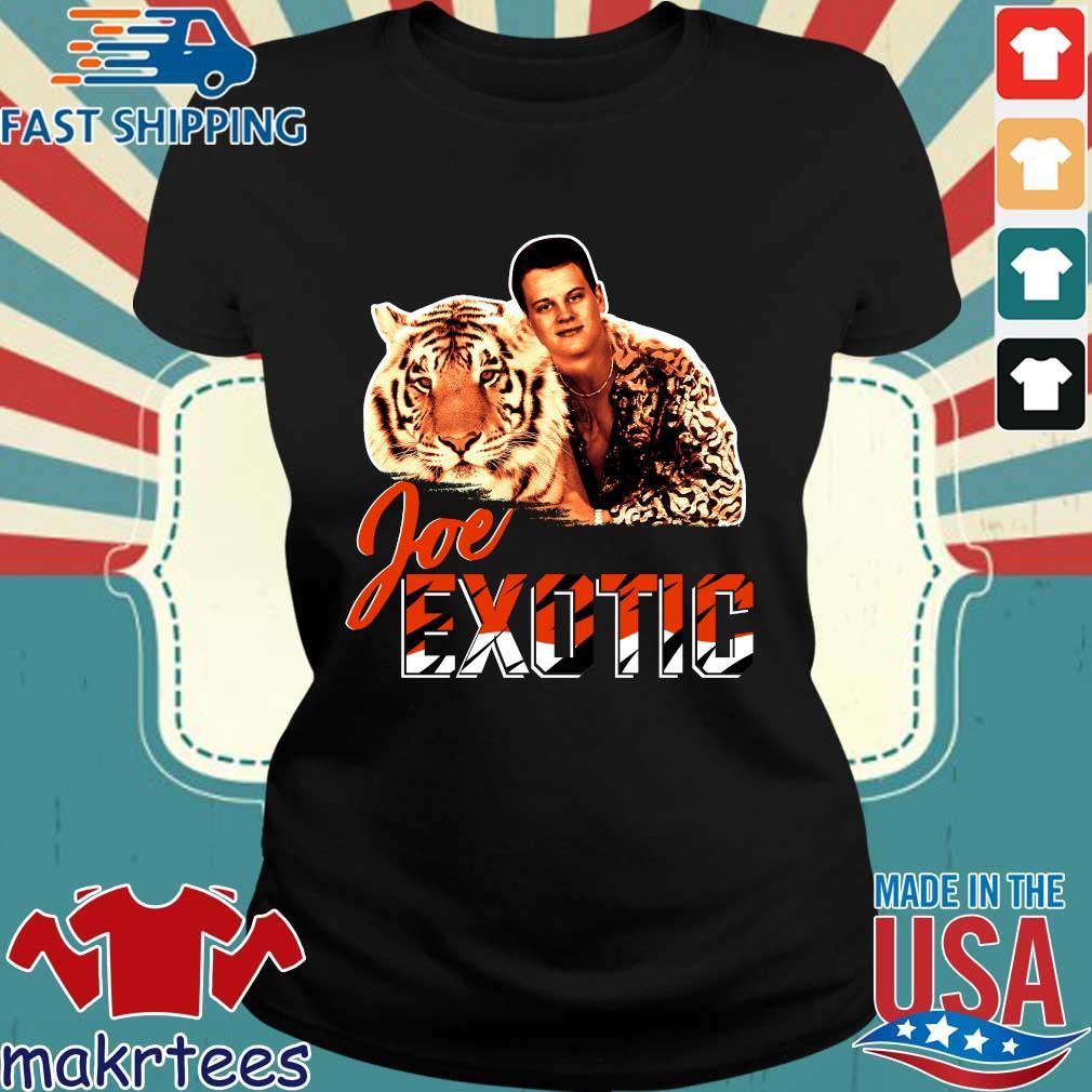 Joe Burrow Joe Exotic Tigers King shirts Ladies den