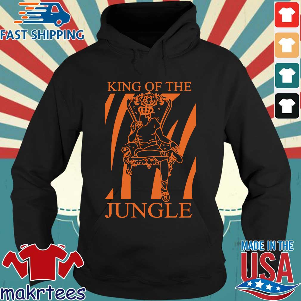Joe Burrow King Of The Jungle Shirt Hoodie den