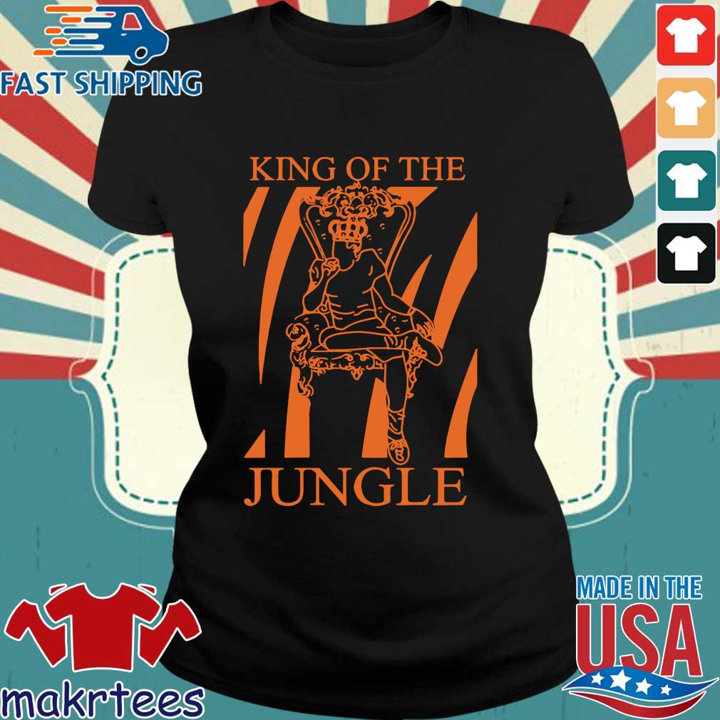 Joe Burrow King Of The Jungle Shirt Ladies den