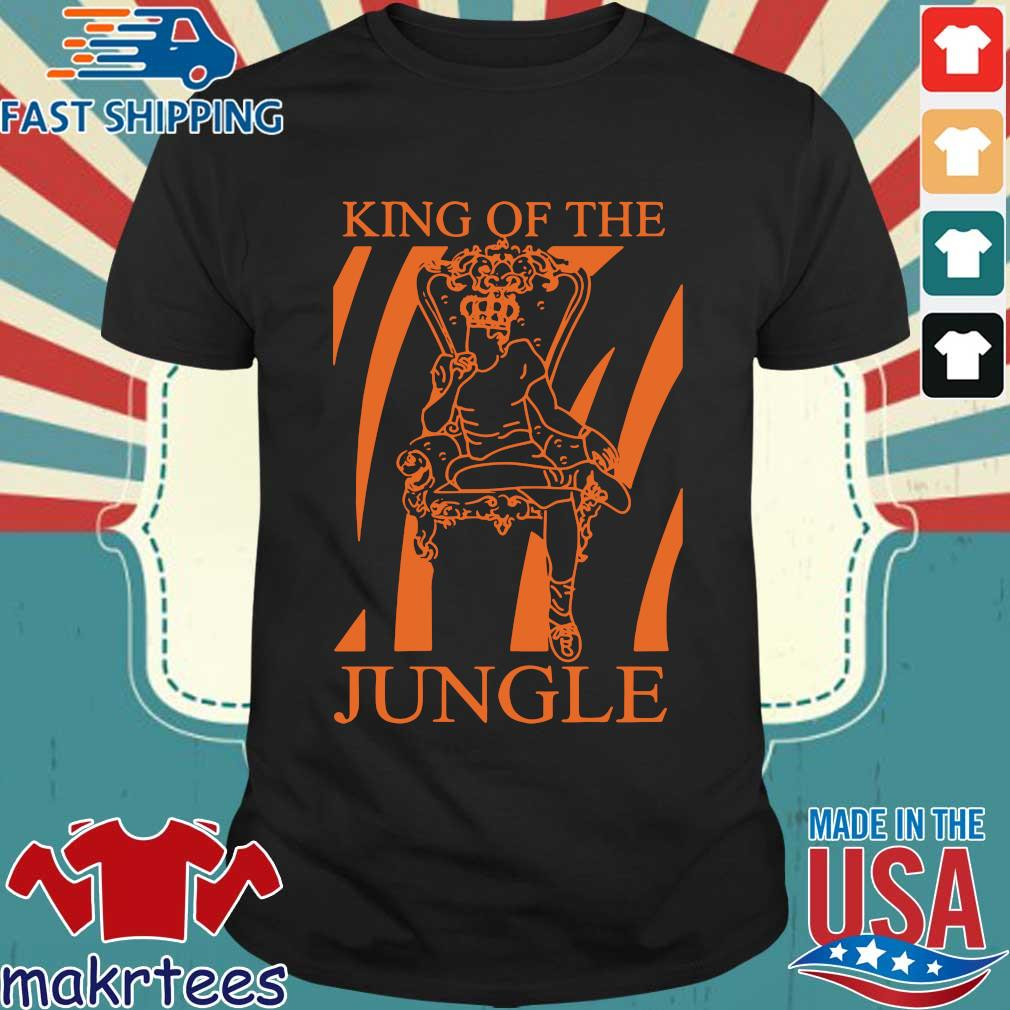 Joe Burrow King Of The Jungle Shirt