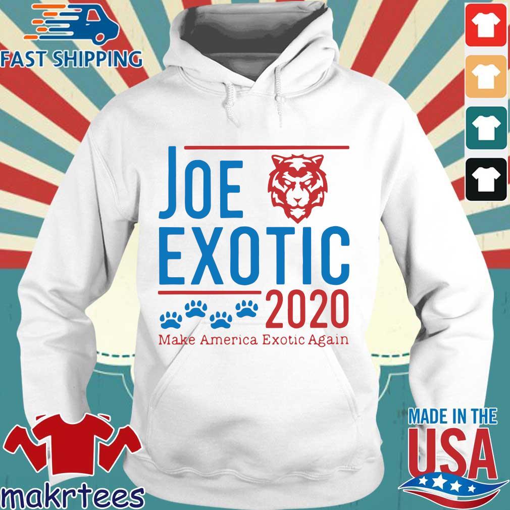 Joe Exotic 2020 Make America Exotic Again Shirt Hoodie trang