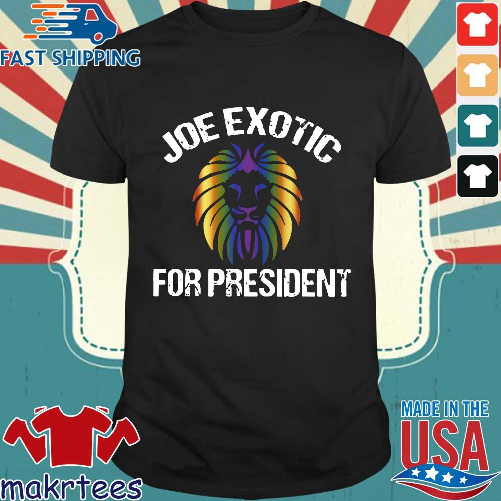 Joe Exotic For President T-Shirt – Joe Exotic For Governor Limited T-Shirt