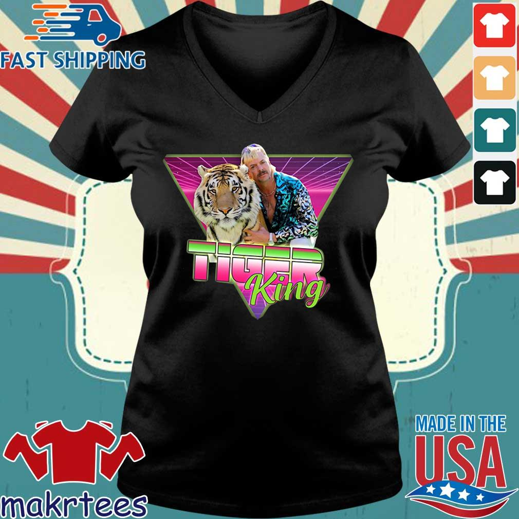 Joe Exotic Joe Exotic Retro Vintage Joe Exotic Joe Exotic Tiger King Tee Shirts Ladies V-neck den