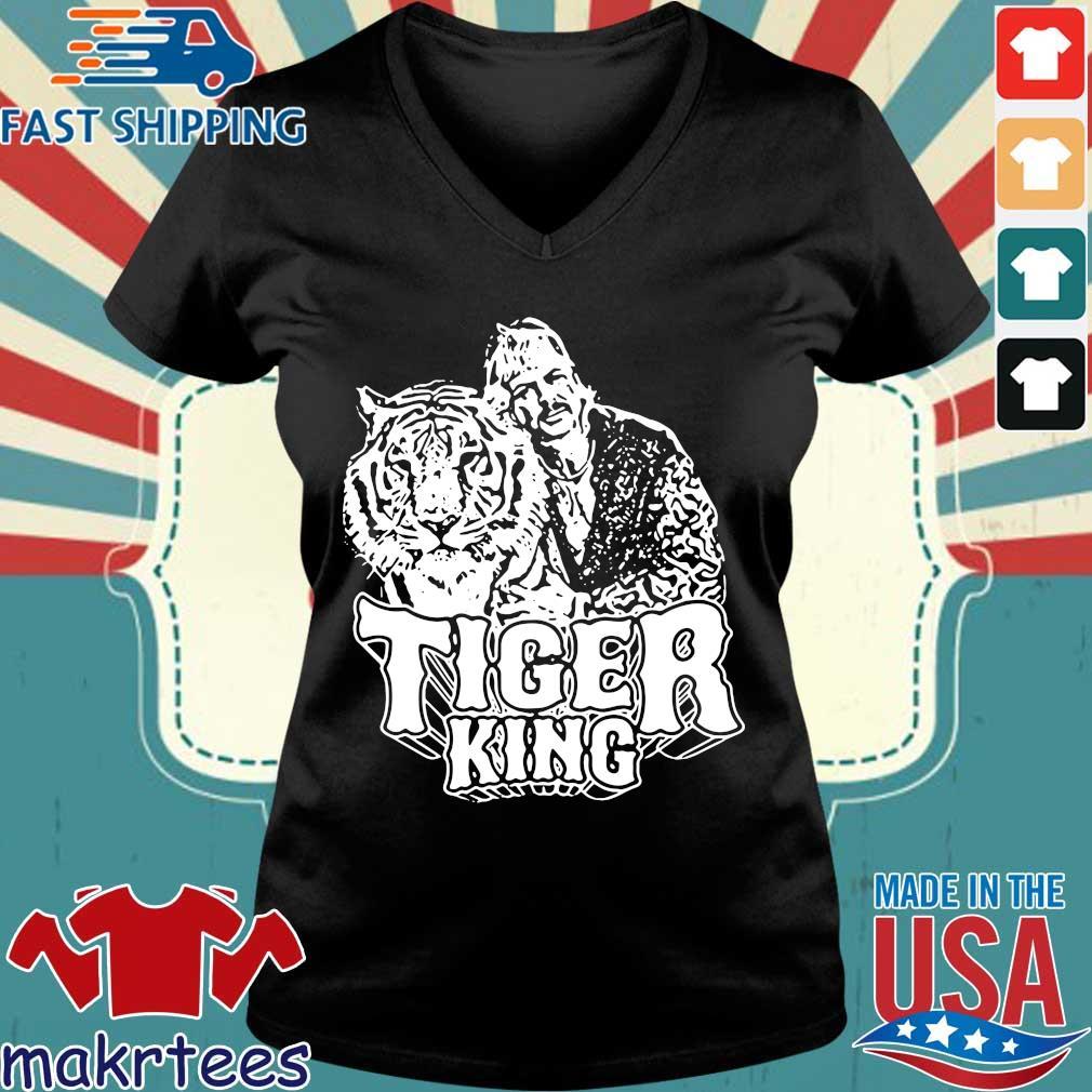 Joe Exotic Shirt Popular Culture Zoo Keeper Tiger King Shirt Ladies V-neck den