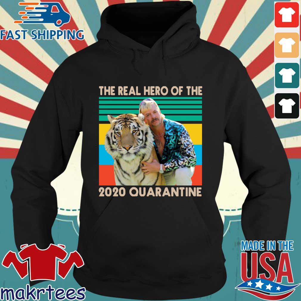 Joe Exotic The Real Hero Of The 2020 Quarantine Vintage T-Shirt Hoodie den