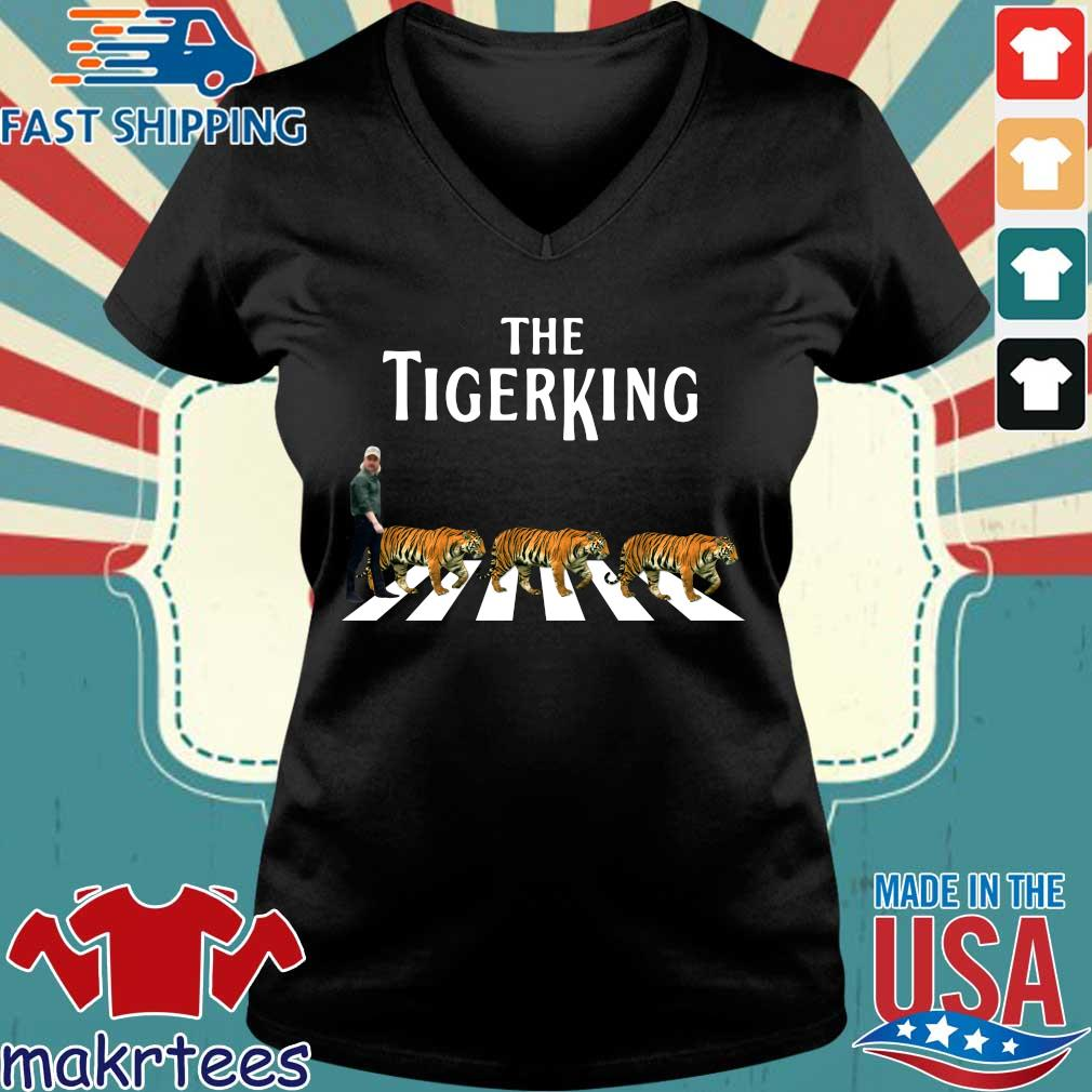 Joe Exotic The Tiger King Abbey Road Shirt Ladies V-neck den