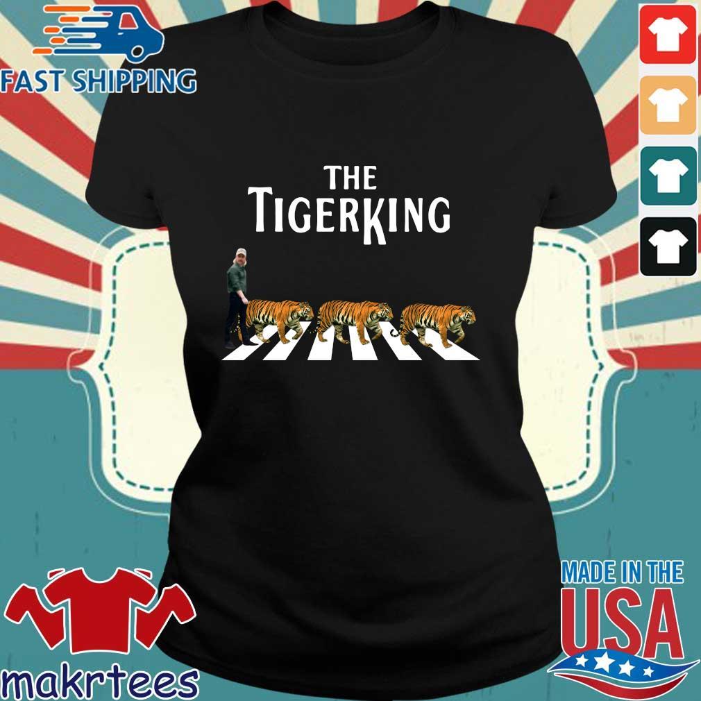 Joe Exotic The Tiger King Abbey Road Shirt Ladies den