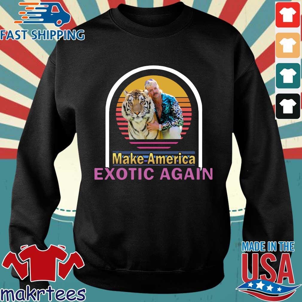 Joe Exotic Tiger King Make American Extoic Again Vintage Shirt Sweater den