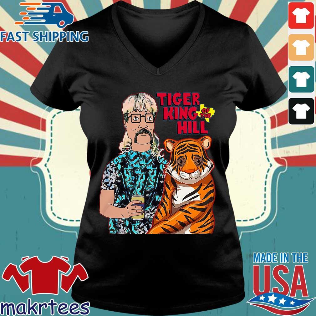 Joe Tiger King Hank Hill Tiger King Of The Hill Texas T-s Ladies V-neck den