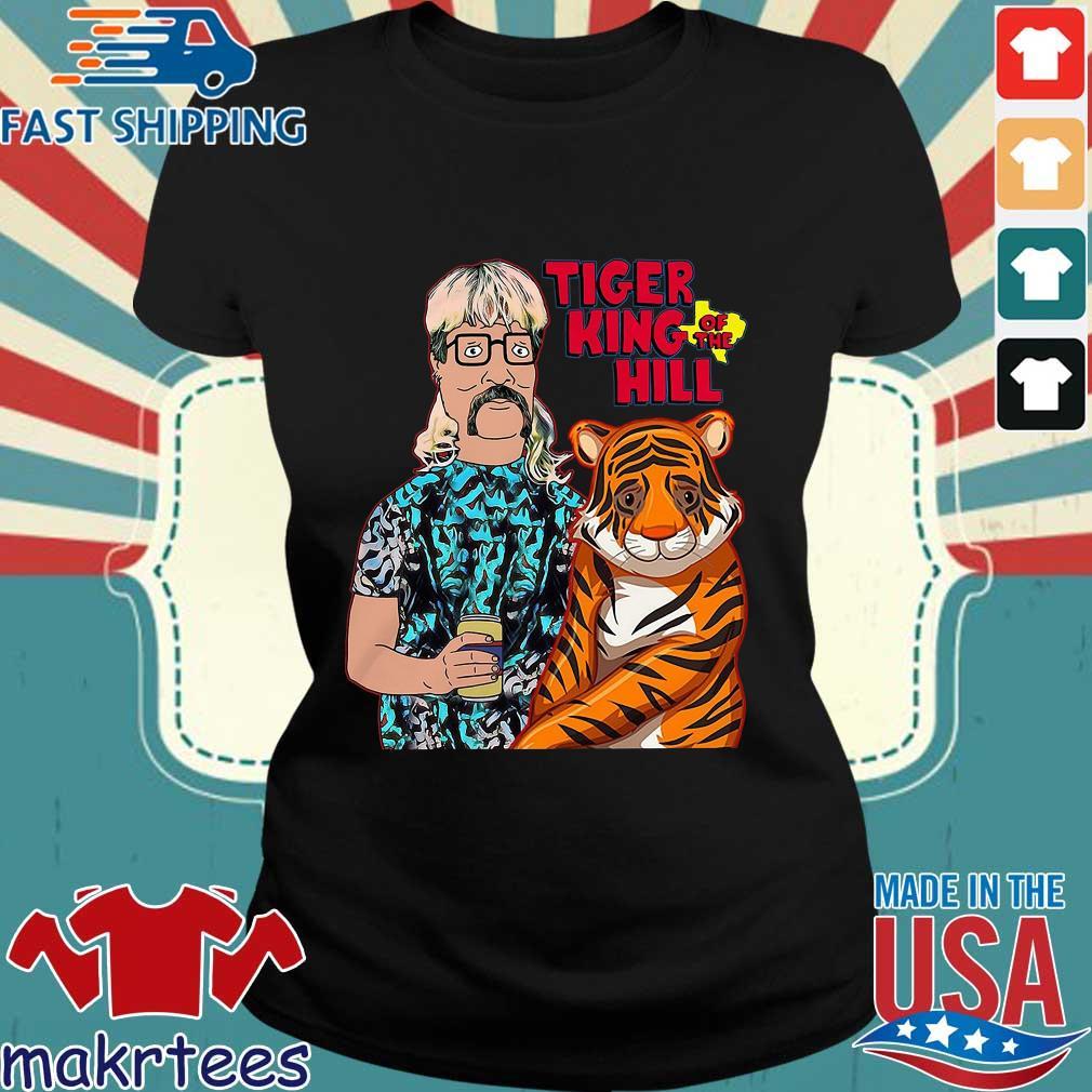 Joe Tiger King Hank Hill Tiger King Of The Hill Texas T-s Ladies den