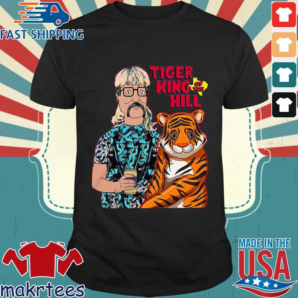 Joe Tiger King Hank Hill Tiger King Of The Hill Texas T-shirt