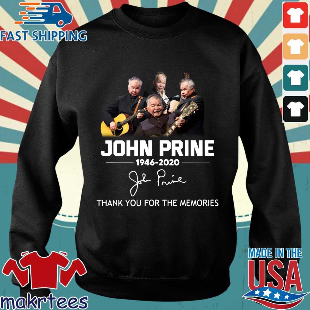 John Prine 1946 2020 Thank You For The Memories Shirt Sweater den