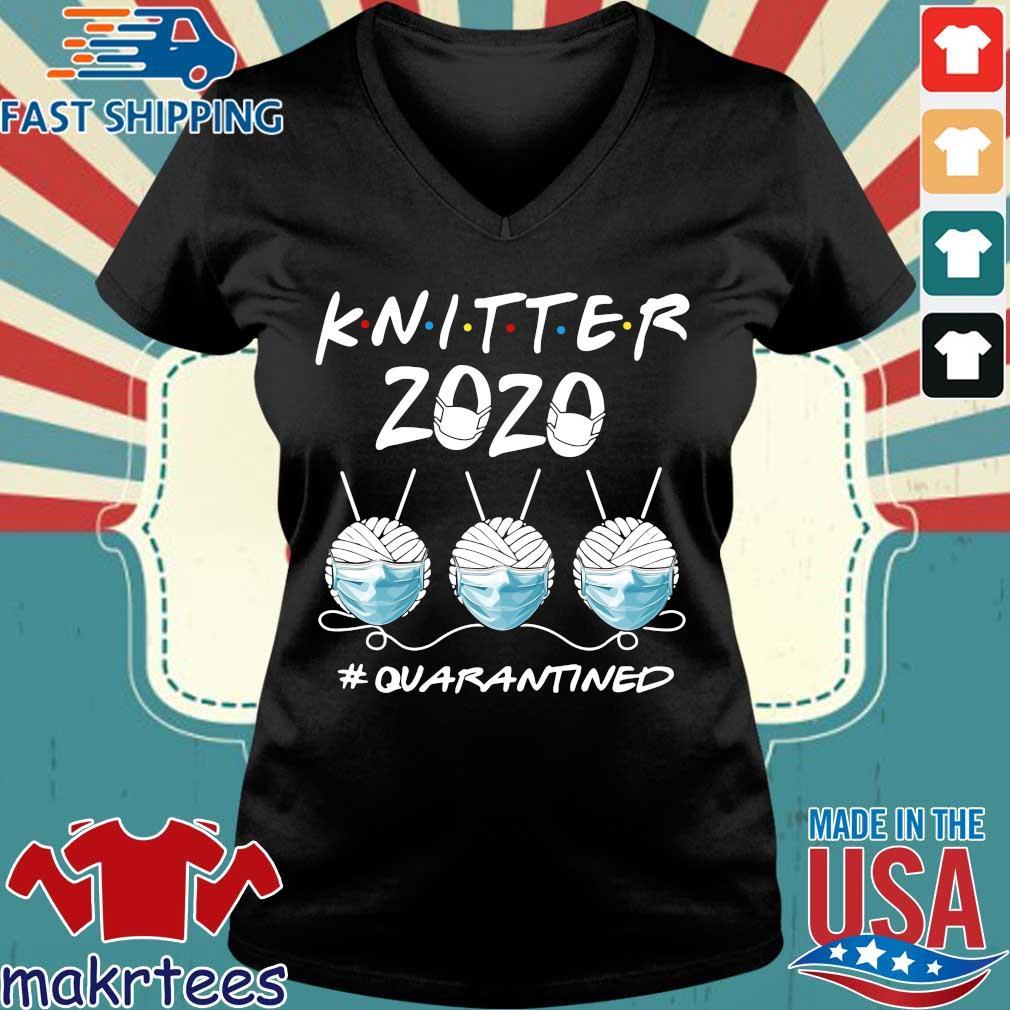 Knitter 2020 Quarantined Shirts Ladies V-neck den